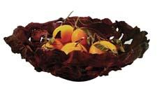 Each unique fruit bowl from Enrico Products is made from multiple pieces of sculpted and twisted roots which promote natural airflow to keep fruit fresh. enricoproducts.com