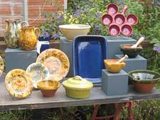 Earthenware from Barbotine reflects a variety of design inspiration and styles. barbotine.fr