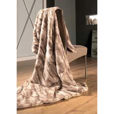 Ibena's Luxury Faux Fur Throw Blanket is made in Germany and is a solid-color faux-fur product that provides the soft and luxurious feel of the real thing. ibena.com