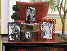 Fetco Home Decor's new Harvest Home line of frames has an eclectic and vintage look. fetcohomedecor.com