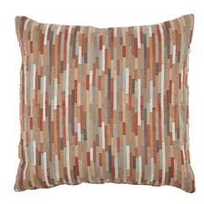 Elite Leather launched a line of 34 pillows, including Vogue Pekoe, a contemporary-styled pillow pictured here.
