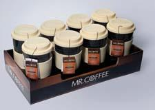 Gibson's Mr. Coffee assortment dovetails nicely with retailers' coffee maker business and has instant brand recognition. gibsonusa.com