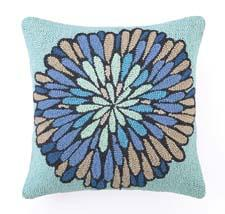 The Valori Wells collection is called the Bloom series. A pillow from the series is shown here.