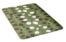 Wellness Mats' Seasons collection allows consumers to change the look of their comfort mats easily with covers in seven designs in five colorways. wellnessmats.com