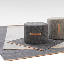 The birch tree is the inspiration behind Design House Stockholm's Björk collection, which has expanded with a small rug and a stool/ottoman, available in two sizes. designhousestockholm.com