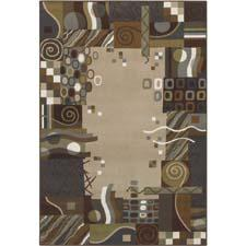 Shaw Living's Newport collection draws inspiration from such resources as historical ikats, Native American textiles and modern geometrics. shawfloors.com
