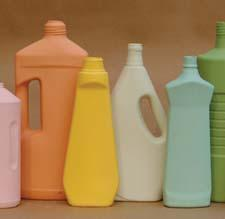 Plastic bottles are commemorated in natural colored porcelain in a new collection called Bottles from Middle Kingdom. middlekingdomporcelain.com