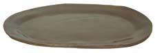 Alex Marshall Studios is featuring its large oval platter, shown here in an umber glaze. alexmarshallstudios.com
