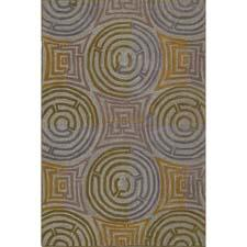 The Addison design in Kaleen's Premier polyacrylic collection is an optical illusion for the floor. kaleen.com