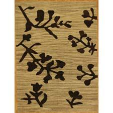 The Modern Kilim design from The Creative Touch is among its newest collections of handknotted wool rugs. creativetouchrugs.com