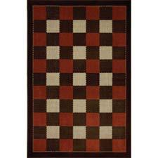 The Classic Weave Chestnut design is one of five new Woolrich indoor/outdoor rugs debuting from Mohawk Home in Atlanta. mohawkhome.com