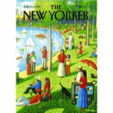 Central Park, depicting a New Yorker magazine cover, joined Home Source International's line of licensed beach towels with New Yorker parent Condé Nast. homesourceintl.com