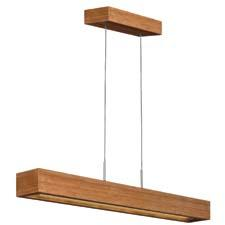 Fredrick Ramond's Zen collection is a modern, cable-hung design constructed with bamboo and which uses an LED light source. fredrickramond.com