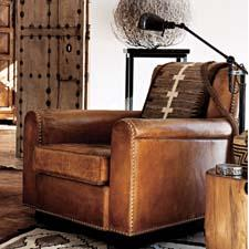 The Ralph Lauren Colorado Club Chair; retails start at $4,000. ralphlaurenhome.com