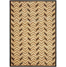 The Holden Chevron rug is one of the initial debuts in Safavieh's Ralph Lauren Home licensed line with Ralph Lauren Home. safavieh.com