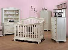 Sorelle Furniture's Cassidy Crib with Vista Collection  sorellefurniture.com