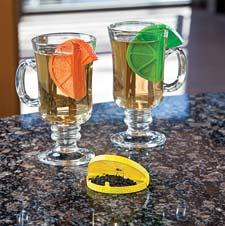 Gourmac's Tea Infuser allows loose tea to be easily placed in a mug of hot water. It will ship in June. gourmac.com