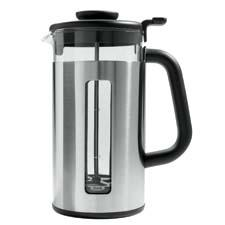 Already in travel mugs and tea kettles, Oxo now offers stainless steel French presses, in four- and eight-cup sizes. oxo.com