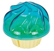 The BPA-free Cupcake-2-Go from Evriholder has a domed lid and prongs to hold the cupcake securely in place. evriholder.com