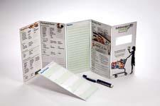 Supermarket Smarty is a portable and reusable dry erase grocery list with nutritional information and an embedded magnifying lens to help shoppers read labels. supermarketsmarty.com