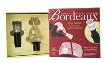 LSArts will highlight its Bordeaux Wine Aerator, which is available alone or, here, as a set. LSArts.com