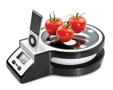 The Joy Digital Kitchen Scale by ADE Germany comes equipped with a licensed iPod/iPhone docking station. frieling.com
