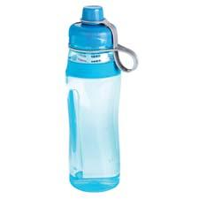 Rubbermaid's FilterFresh water bottle incorporates a carbon-based filter to remove chlorine and other large sediment particles and is available in four colors. rubbermaid.com
