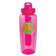 Cool Gear's 32-ounce Peace bottle is made of BPA-free Tritan materials, comes in four colors and has non-toxic freezer stick to keep drinks colder. coolgearinc.com