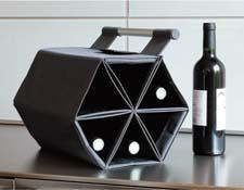 Direct from France, ZEbag is a stylish way to store and carry wine bottles due to the different ways it can be used — opened, closed, folded, or hung. zebag.fr