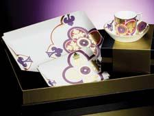 Villeroy & Boch used 19th century wall tiles as the inspiration for its new Authentic Avantgarde line of giftware. villeroy-boch.com