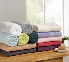 The Ultimate Bath Ensembles collection from Chortex is made of 100 percent cotton and comes in bath sheets, towels, wash cloths and bath mats. chortex.com