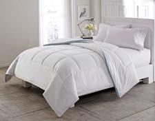 The Breathemesh comforter is one of Hollander's additions to its HoMedics licensed collection of basic bedding. hollander.com