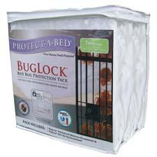 Protect-A-Bed's BugLock Bed Bug Protection Pack is designed to provide bed-bug protection to mattresses and boxsprings. protectabed.com