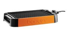 Bodum will introduce the Bistro Electric Table Grill in orange (as well as red, green and black) at Ambiente this month. bodumusa.com
