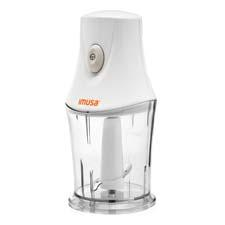 IMUSA's new electric chopper has a two-cup capacity bowl and detachable pieces for easy storage. imusausa.com