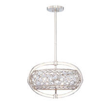 Showing in Dallas, the Metropolitan Lighting Fixture Co. will debut the Magique collection, which has hand cut crystals inset into a contemporary frame. minkagroup.com
