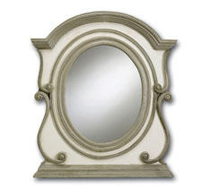Currey & Co. will expand its mirror offerings with the Mansard mirror (#1011). curreyandcompany.com
