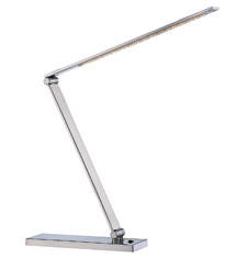 Lite Source expands its LED offerings with Sloane, #LS-21478, an LED desk lamp with polished steel metal construction and a 5.76 watt LED panel. lite-source.com