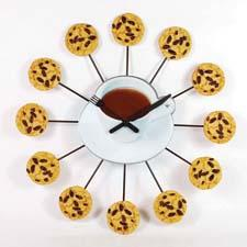 It's always time for cookies with Ashton Sutton's new wall clock, which retails for $49.99. ashtonsutton.com