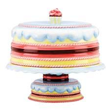 The new Merry Go Round collection from Gorham offers a playful twist on traditional nursery rhymes, such as Pat-A-Cake Baker's Man, with colorful ceramics. gorham1831.com