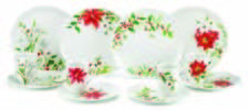 Lenox debuts Winter Meadow, a porcelain collection celebrating the beauty of botanicals that bloom during the winter months, including Poinsettia, Holly, Paper Whites and Amaryllis. lenox.com