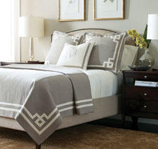 Made of 100 percent linen, Beacon Hill from Legacy Home is marked by sophisticated and finely tailored styling. legacylinens.com