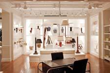 The Lauren Ralph Lauren shop, which carries all categories of home, including lighting, accounts for 45 percent of floor space.