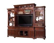 Reed's Landing Grand Wall, (Contact for price) Meets the demand for TVs up to 60-inches wide. aspenhome.net