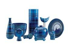 Bitossi Ceramics in Rimini Blu, $40 to $225 A good reason to be in a blue mood; handmade in Italy dwr.com