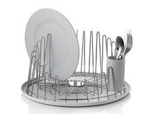 From a new designer, Pauline Deltour, Alessi has launched the A Tempo collection, a minimalist group influenced by Alessi wire baskets from the early 1900s. alessi.com