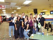 ART, the Accessories Resource Team, took to the lanes for a bowling tournament. The team from Artisan House (pictured) were the big winners of the event, co-sponsored by the IHFC and HFIA.