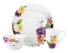 Lenox sports bold colors in Floral Fusion, tapping a strong ongoing trend. lenox.com