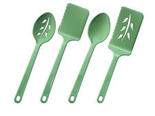 Each kitchen utensil from Robinson's new Green Street collection is made from two to three recycled PET water bottles. robinsonknife.com