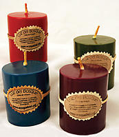Global Exchange's Arrayan Tree Candles are handmade by Mayan women from the seeds of the Arrayan tree, a native of the cloud forests of Guatemala. globalexchange.org